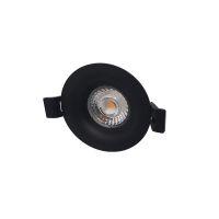 LED Camini dimbaar 8W 2700K 36° zwart