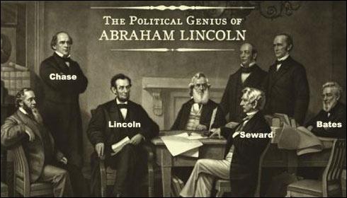Lincoln - Seward - Chase - Bates