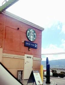 A Starbucks Drive-In !