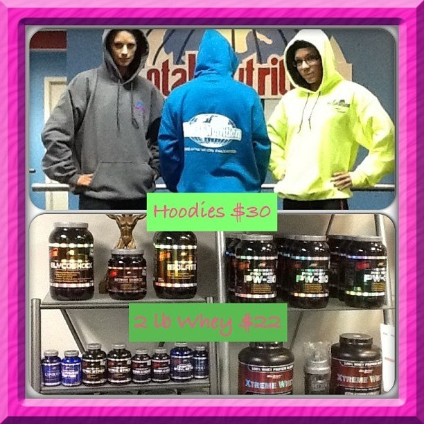 Total Nutrition – Hoodies, Supplements, Workouts, Trainers!