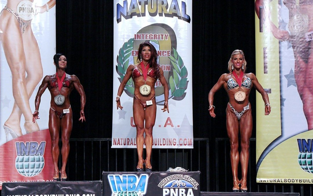 Here's a Peek at Some Natural Olympia Ms. Figure Shots