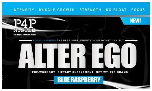 P4P Alter Ego Pre Workout