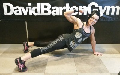 Angela Yeo at David Barton Gym in Miami