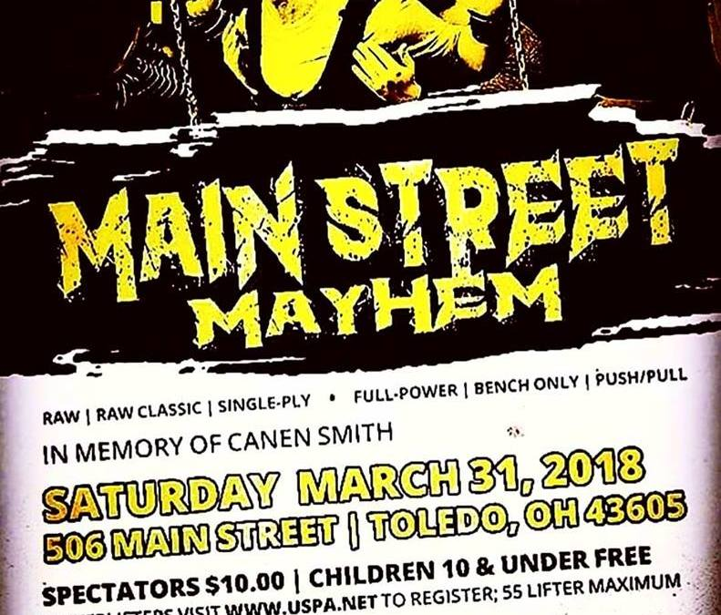 Main Street Mayhem – Watch Ankhjii Lift!!