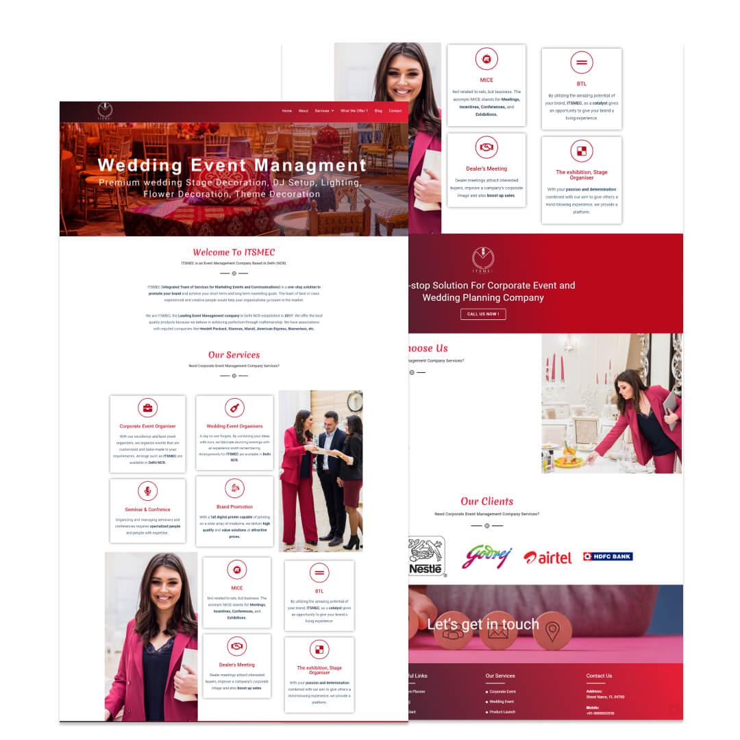 Red-color Cooperate Event Company in new Delhi