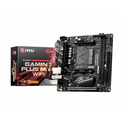 01 MSI B450I GAMING PLUS MAX WIFI motherboard