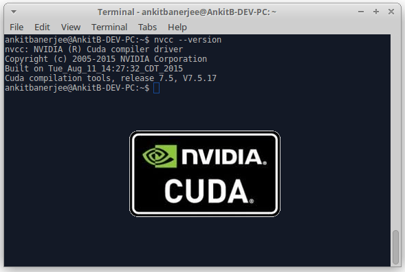 Cuda Toolkit in Ubuntu