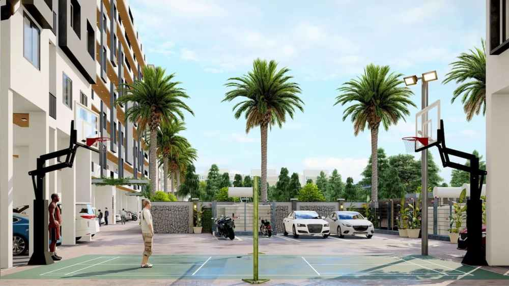 3in1 Play Court Atmosphere Happy Homes - Flats In Siliguri