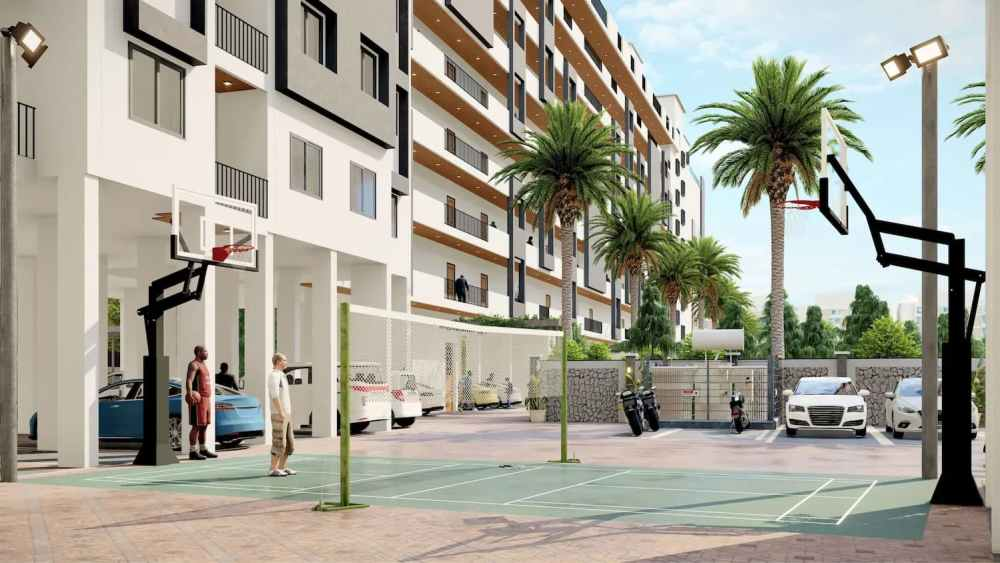 Basket Ball Atmosphere Happy Homes - Flats In Siliguri