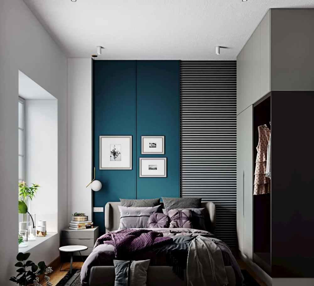Bedroom View Of Atmosphere Happy Homes - Flats In Siliguri