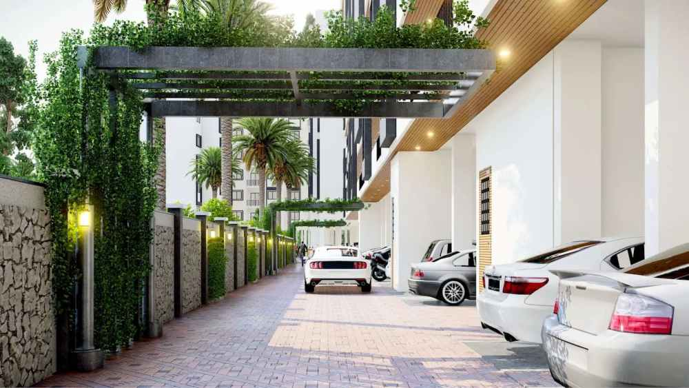 Entry & Exit Of Atmosphere Happy Homes - Flats In Siliguri