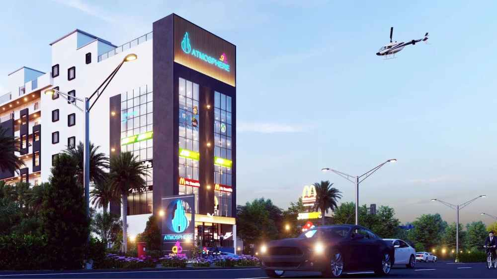 Commercial Block Of Atmosphere Happy Homes - Flats In Siliguri