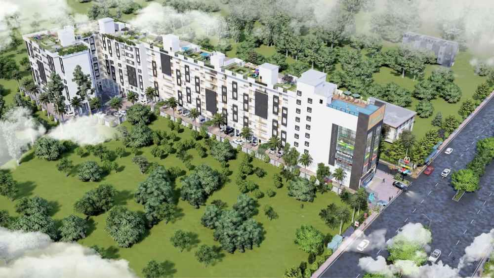 Exterior View Of Atmosphere Happy Homes - Flats In Siliguri