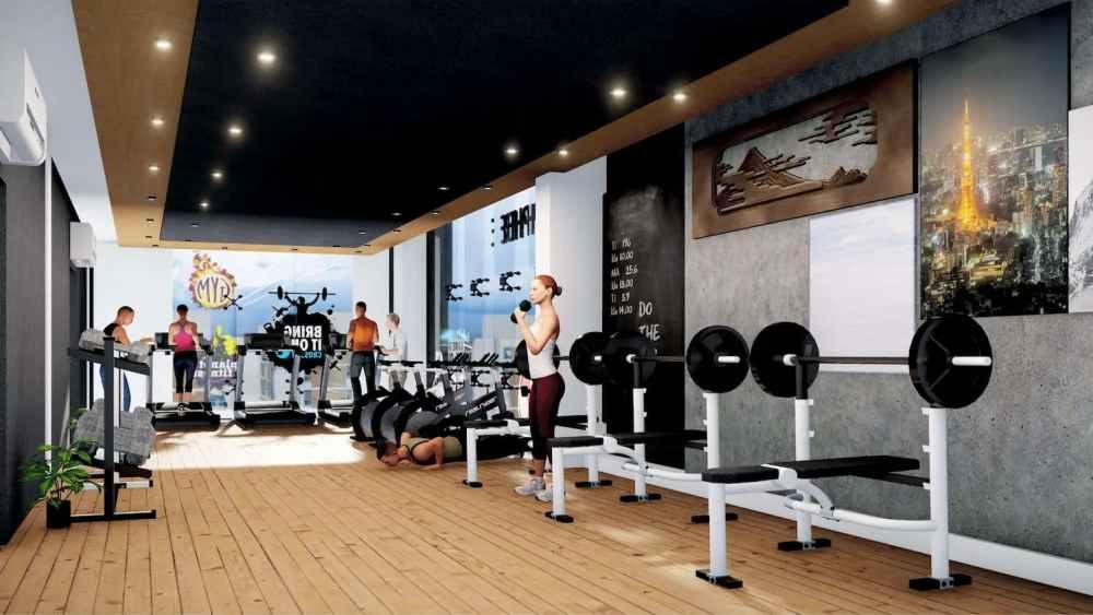Gymnasium Atmosphere Happy Homes - Flats In Siliguri