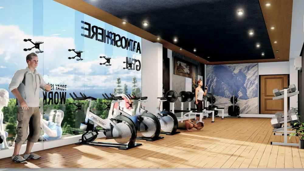 Gymnasium Full View Atmosphere Happy Homes - Flats In Siliguri