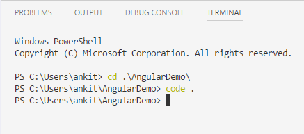 Getting started with angular 5 using visual studio code dzone web dev this will open the code file of our application in a new vs code window you can see the following file structure in solution explorer flashek Image collections