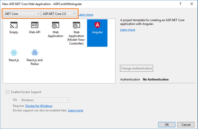 CRUD Operations With ASP NET Core Using Angular 5 and ADO NET