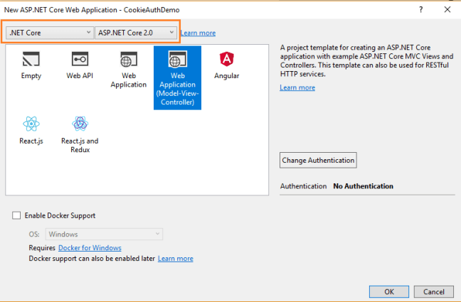 Cookie Authentication With ASP NET Core 2 0 - Ankit Sharma's