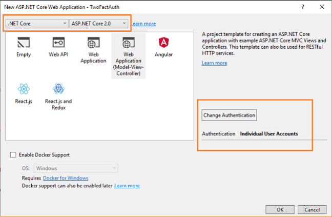 ASP NET Core - Two Factor Authentication Using Google