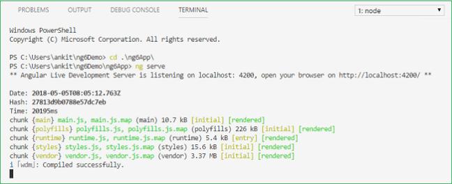 Getting Started With Angular 6 0 - Ankit Sharma's Blog