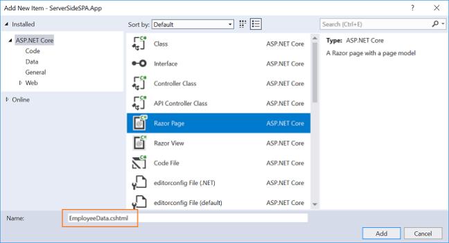 Single Page Application Using Server-Side Blazor - DZone Web Dev