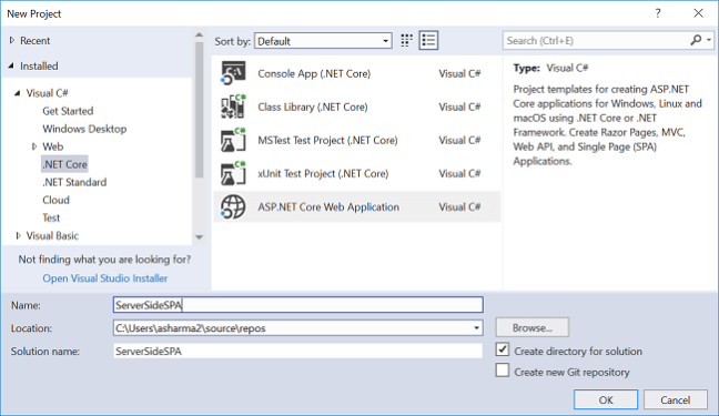 Single Page Application Using Server-Side Blazor - Ankit Sharma's Blog