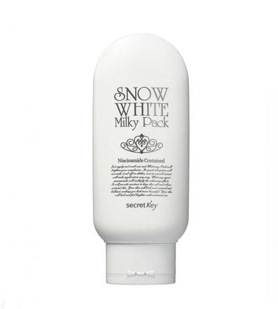 Secret key snow white milky pack - Избелваща маска за лице ...