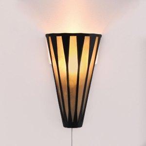 60. Lampskärm, lampa i retrostil