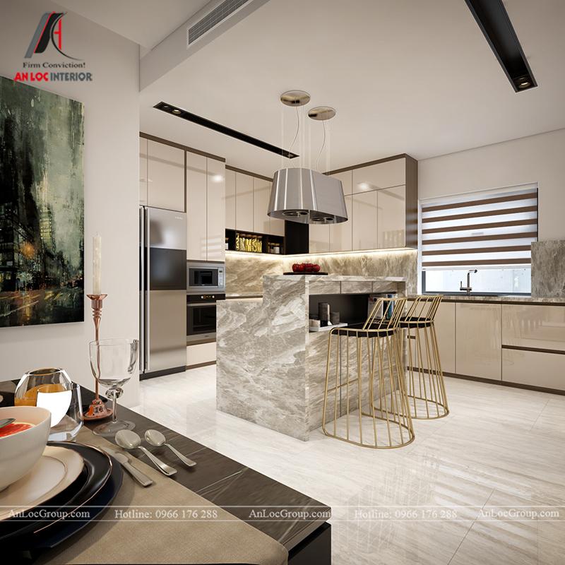 Nội thất nhà biệt thự đẹp tại Khai Sơn Hill Quận Long Biên - Ảnh 8