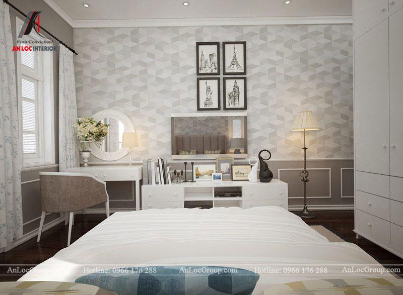 Thiết kế nội thất biệt thự Gamuda Garden phong cách tân cổ điển - Ảnh 15