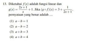 Menyelesaikan bentuk akar dan persamaan linear prepared with ujian tulis. Matematika Dasar Simak Ui 2018 Anlon Education