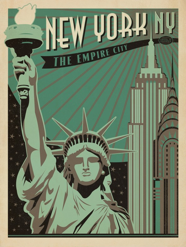 Vintage Travel Posters Anm 143 Summer 2014