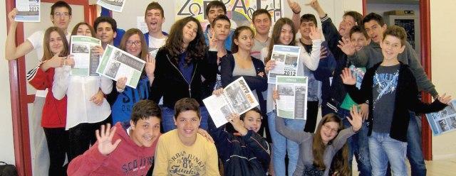 """""""Πρωτο-τύπος"""", το περιοδικό των μαθητών του 1ου Γυμνασίου Χαλκίδας"""