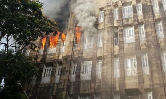 Fire In Gov Office In Mumbai's Scindia House, Sensitive Tax Evasion Documents Feared To Be Lost