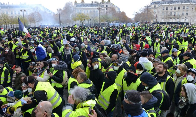 Considerations for American activists on the yellow vest (Gilets Jaunes) protests occuring across the EU.