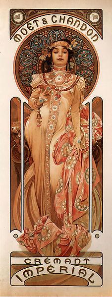 226px-Mucha-Moët_&_Chandon_Crémant_Impérial-1899