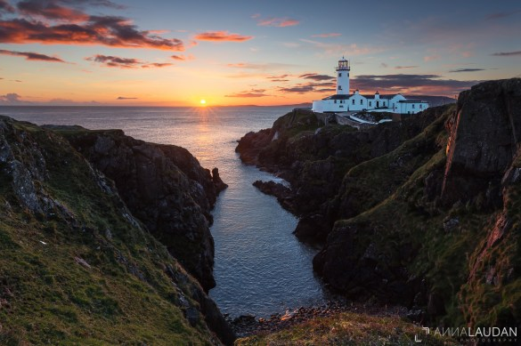 Sunrise at the Fanad Head Lighthouse IIa