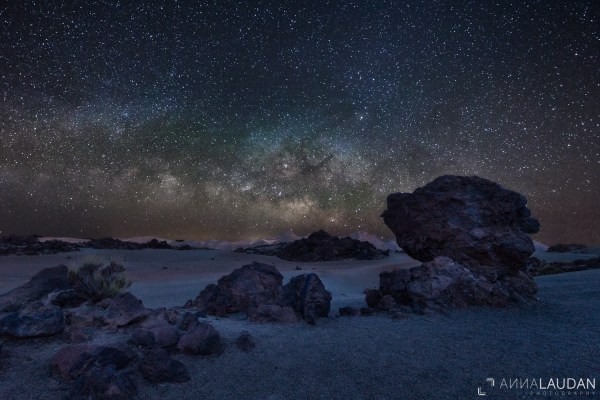 Milky Way over Tenerife