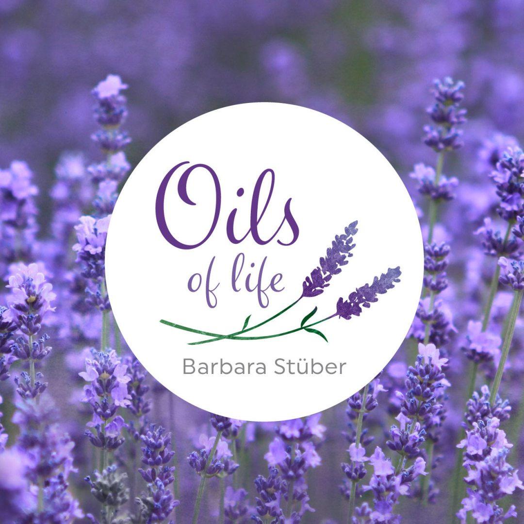 Logo für Oils of life – hochwertige ätherische Öle