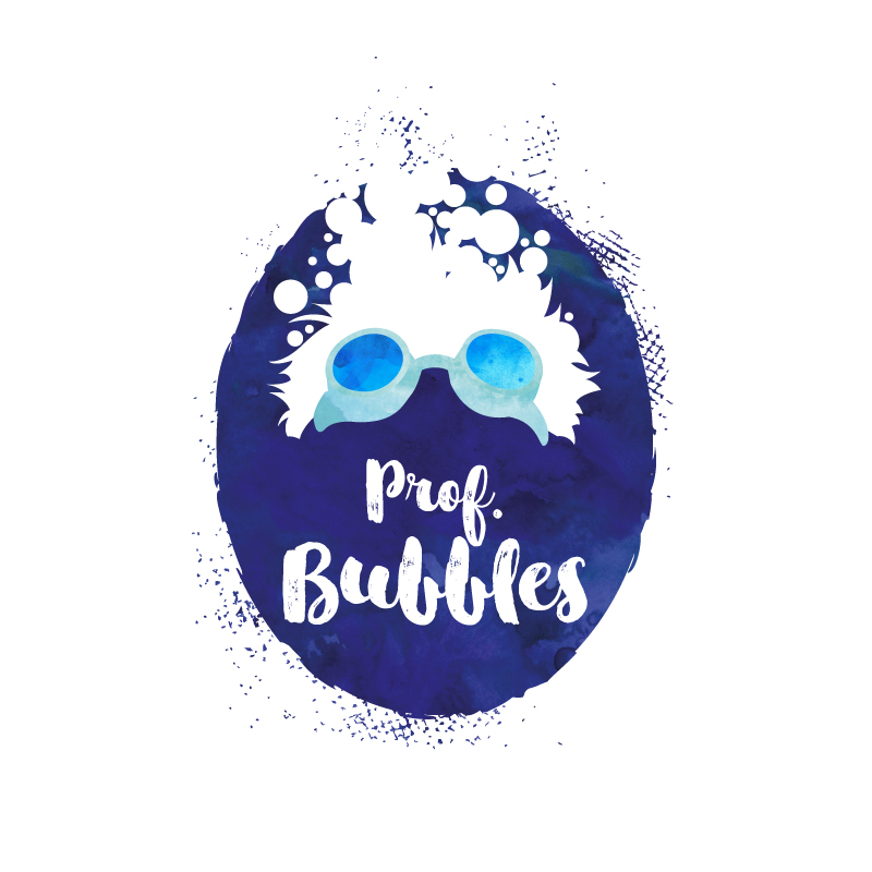 Logo für Prof. Bubbles