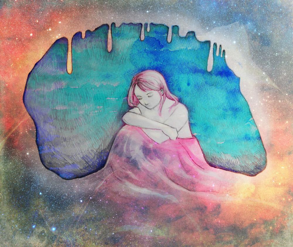 Stilltropfendes Universum