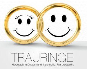 Trauringe Hergestellt in Deutschland