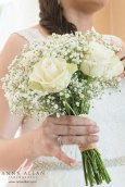 Middlesex-uxbridge-London-weddding- Photographer - Wedding-photography-christchurch-harbour-hotel-roses and gypsophilia bouquet