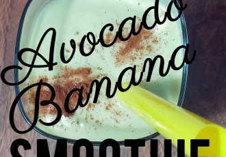 avocado banana smoothie