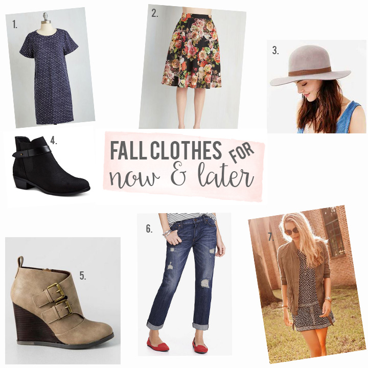 How to Transition Summer Clothes into Fall