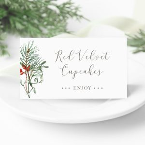 Food Buffet Signs + Cards
