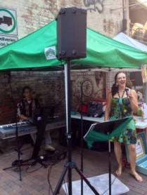 Anna & the Consequences Duo at Pearl Market 6/21/13