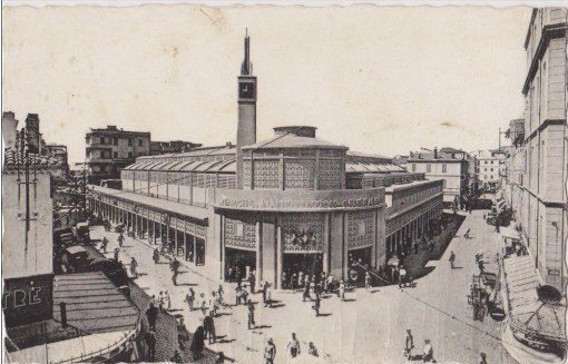 Photo ancienne marché couvert annaba