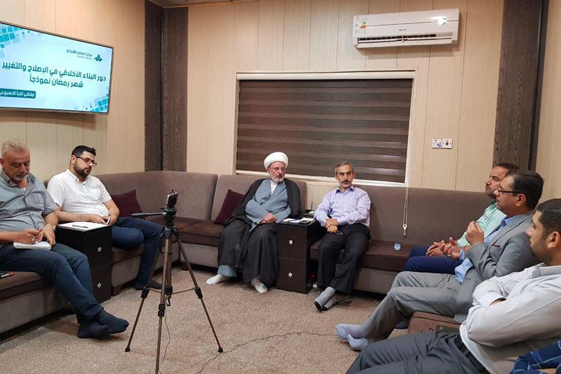 مركز الامام الشيرازي ناقش دور شهر رمضان في البناء الأخلاقي