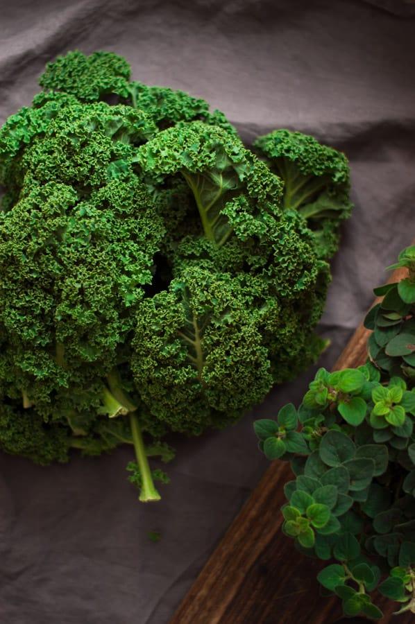 Potato Kale and Cabbage Rosti